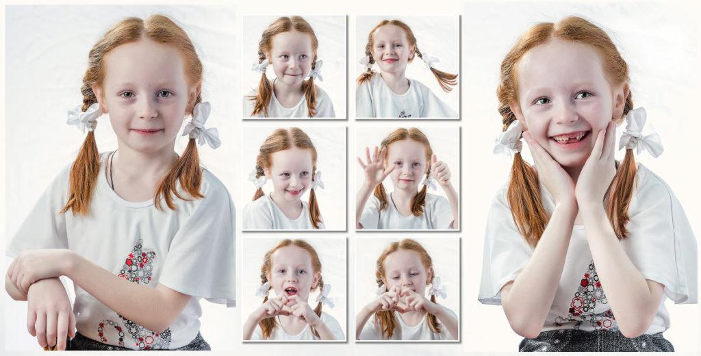 Портреты в детском саду