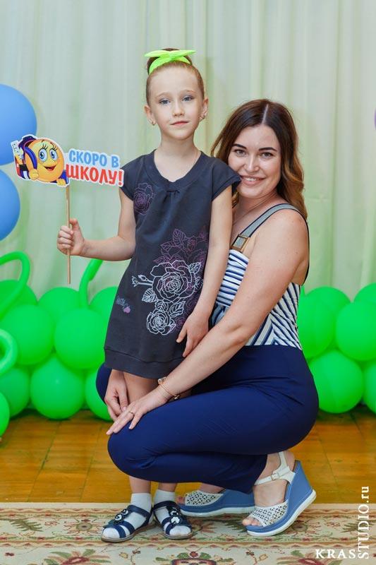 Выпускной в детском саду и мама