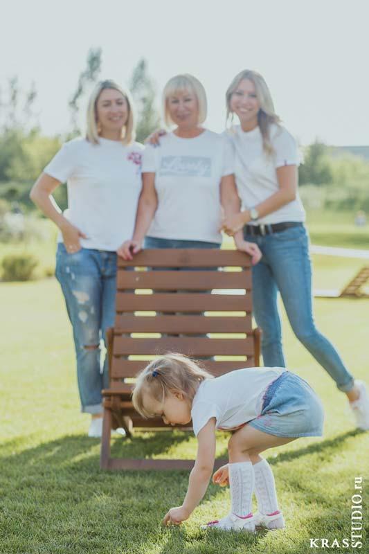 Семейная фотосессия в парке ПРИЩЕПКА