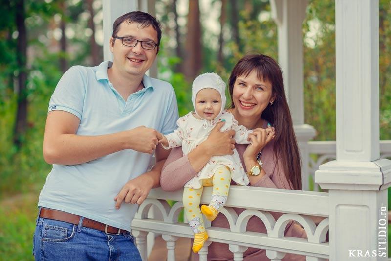 Семейная фотосессия в мужском монастыре