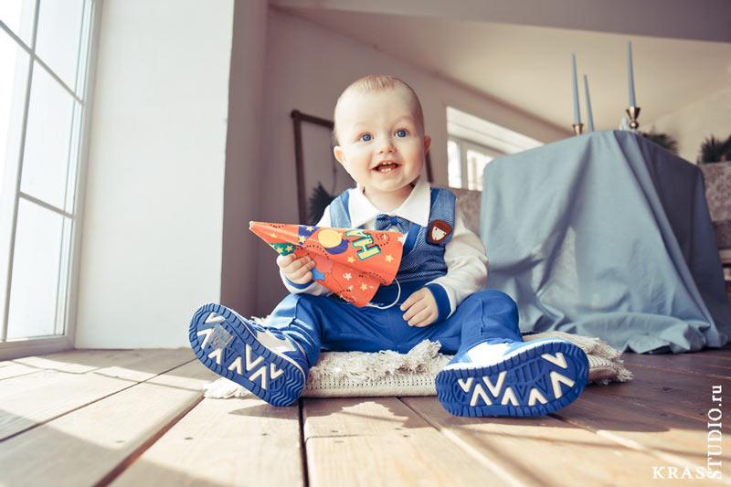 Детская фотосессия дома или в студии