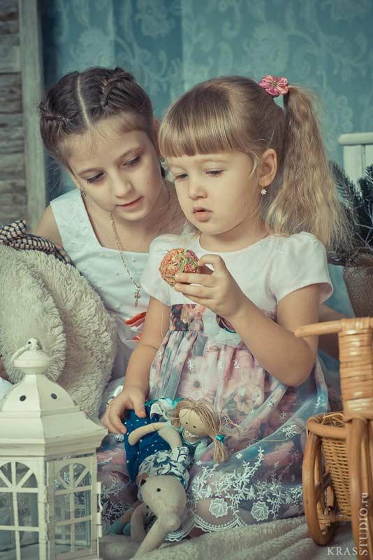 Фотосессия детей в студии Красноряска