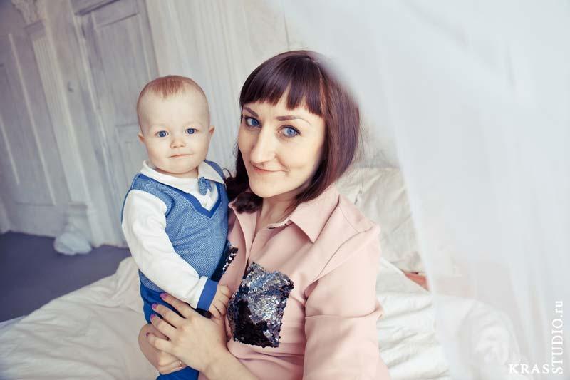 Детская фотосессия в студии Красноярска