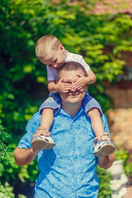 Фотосессия детей в парке Сады Мечты