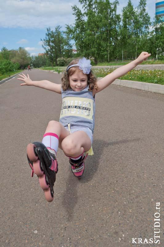 Детская спортивная фотосессия в Красноярске