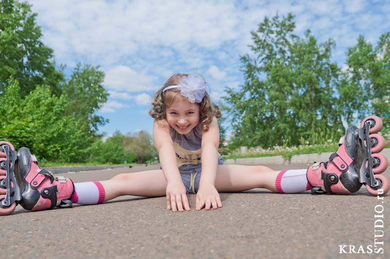 Спортивная фотосессия детская в Красноярске