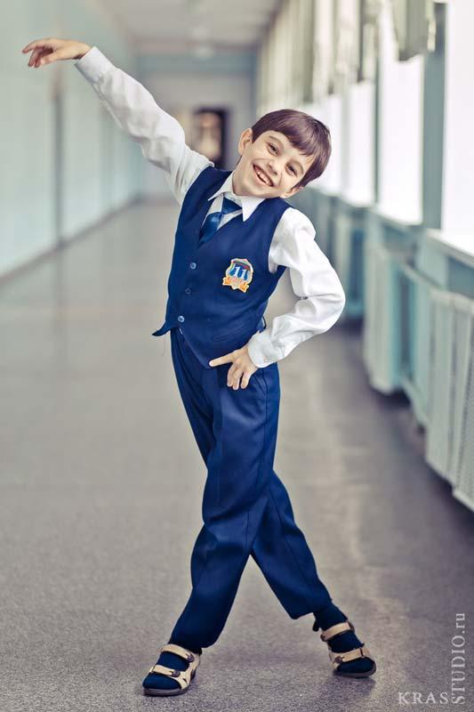 Школьная фотосессия детей в Красноярске