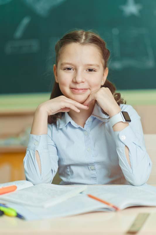 Детский школьный портрет в Красноярске